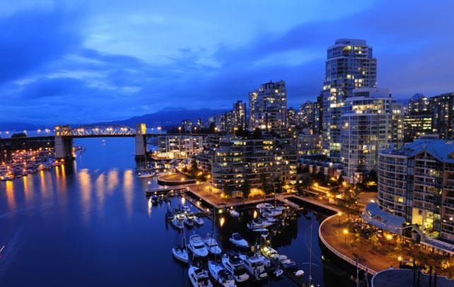 Город ванкувер Канада