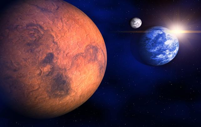 mars planet 2moons - photo #44