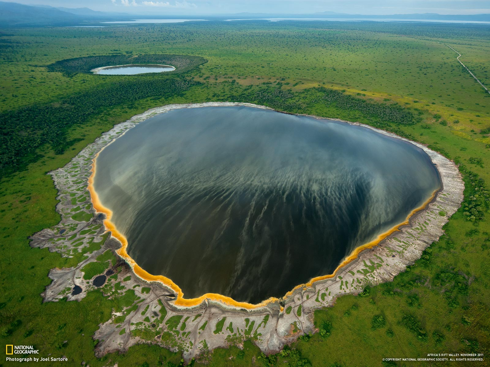 The Albertine Rift In Africa