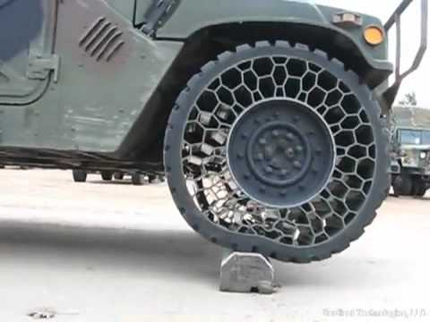 Cool army tire technology