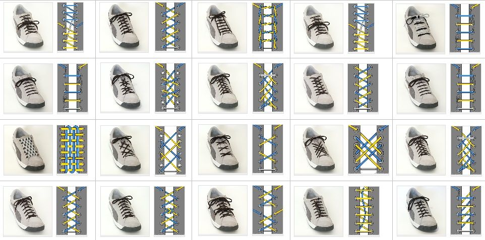How to tie shoes fast ccuart Images