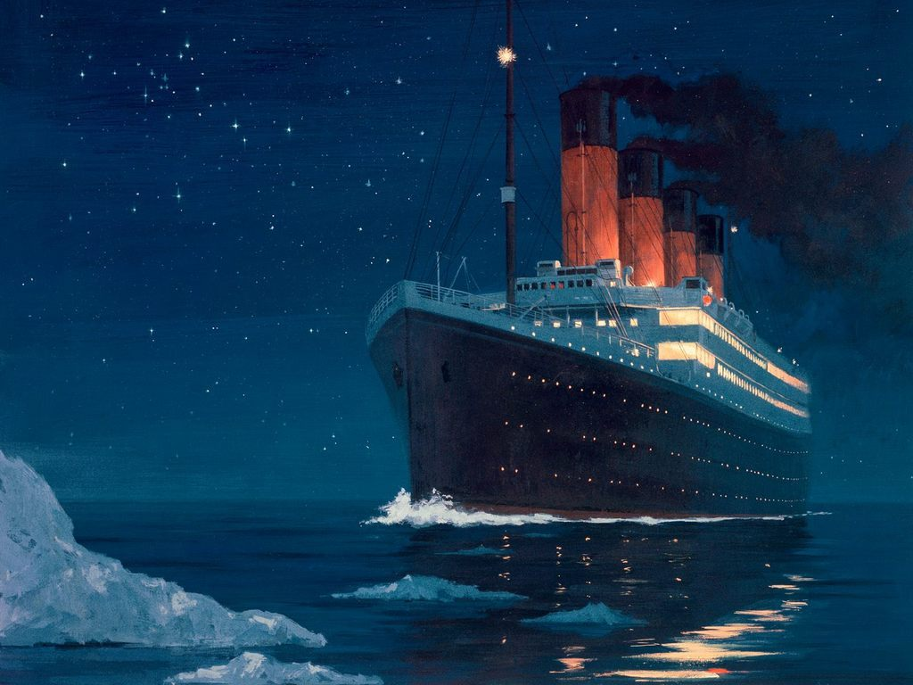 How The Titanic Sank