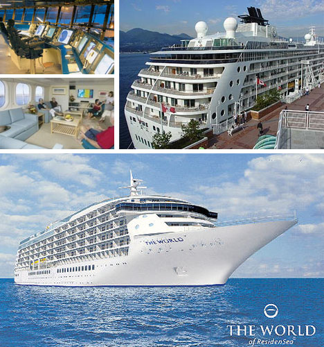 The World - Ultra Luxury Cruise Ship