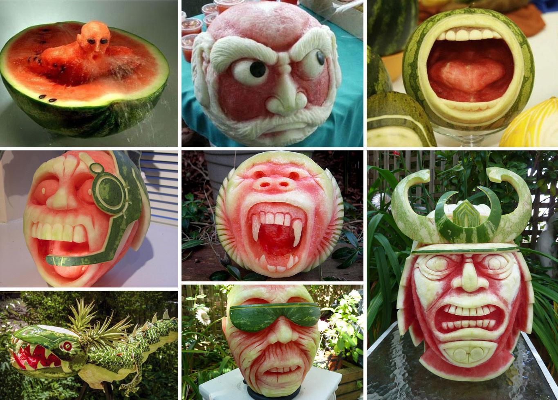 Bizarre Watermelon Art