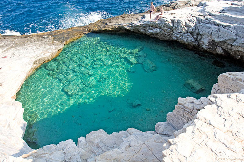 The Giola Lagoon in Greece