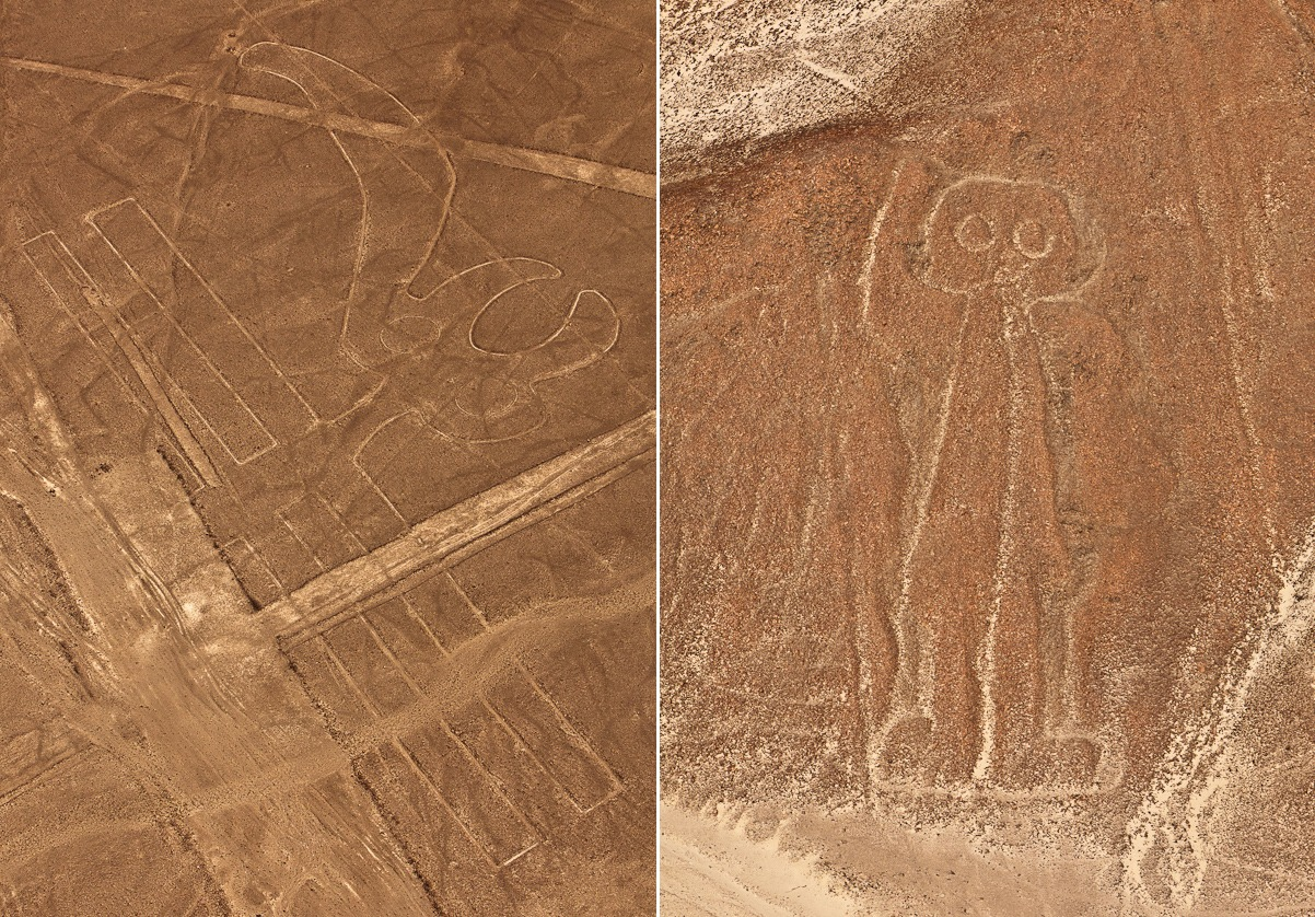 Strange Geoglyphs In Peru