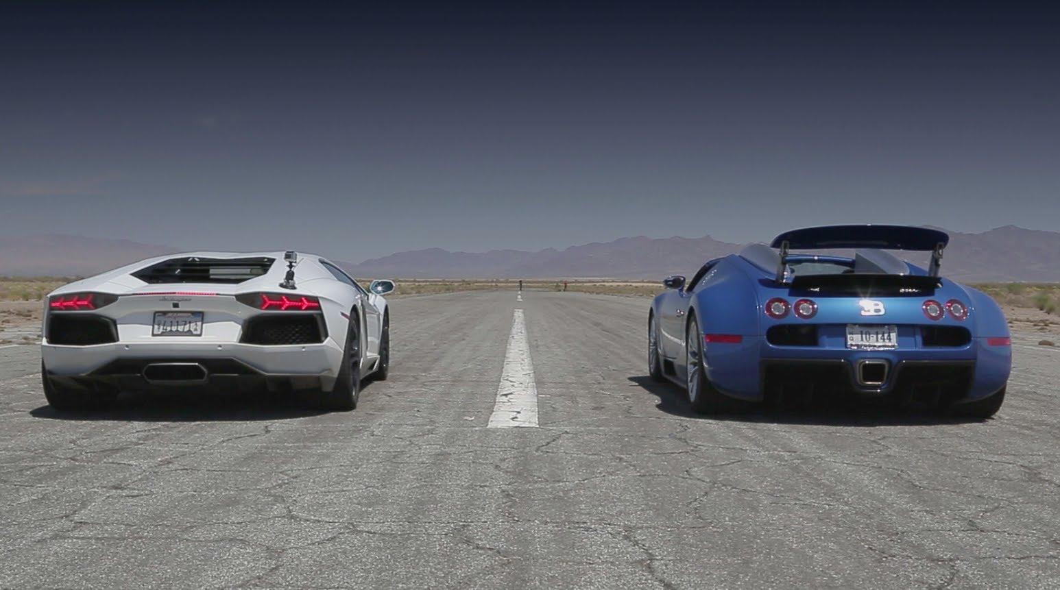Aventedor Vs Veyron