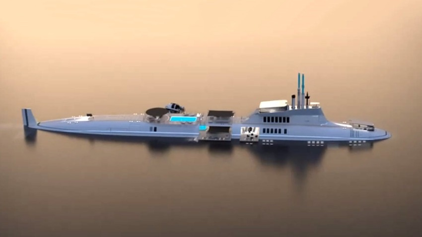 Migaloo - The Luxury Submarine