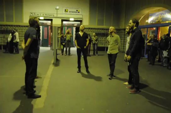 Icelandic Hym Performed In Train Station - Must Watch