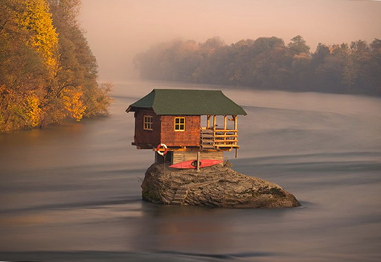 The House In The Middle Of A River