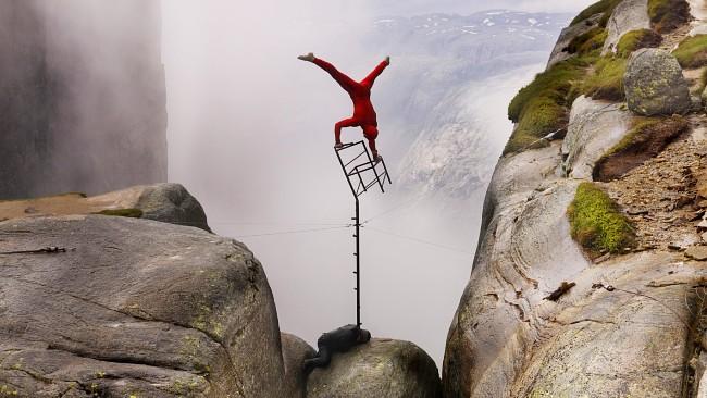 Eskil Ronningsbakken - The Scary Balancing Expert