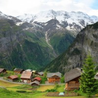 A Little Piece Of Heaven - Gimmelwald, Switzerland