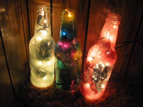 How To Make Vodka Bottle Lamps