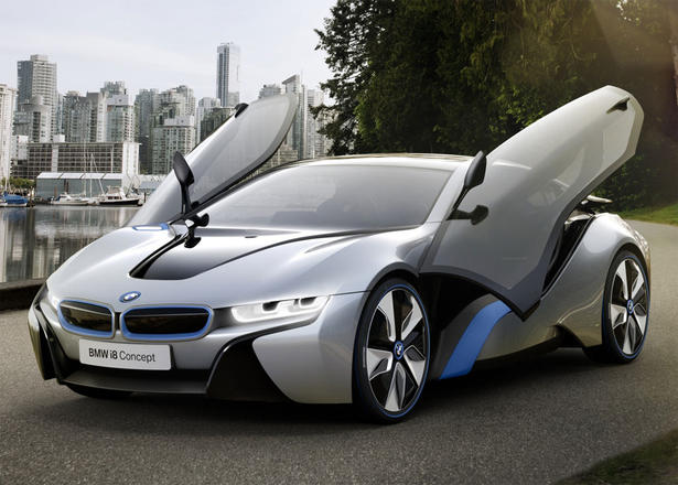 The BMW i8 Concept