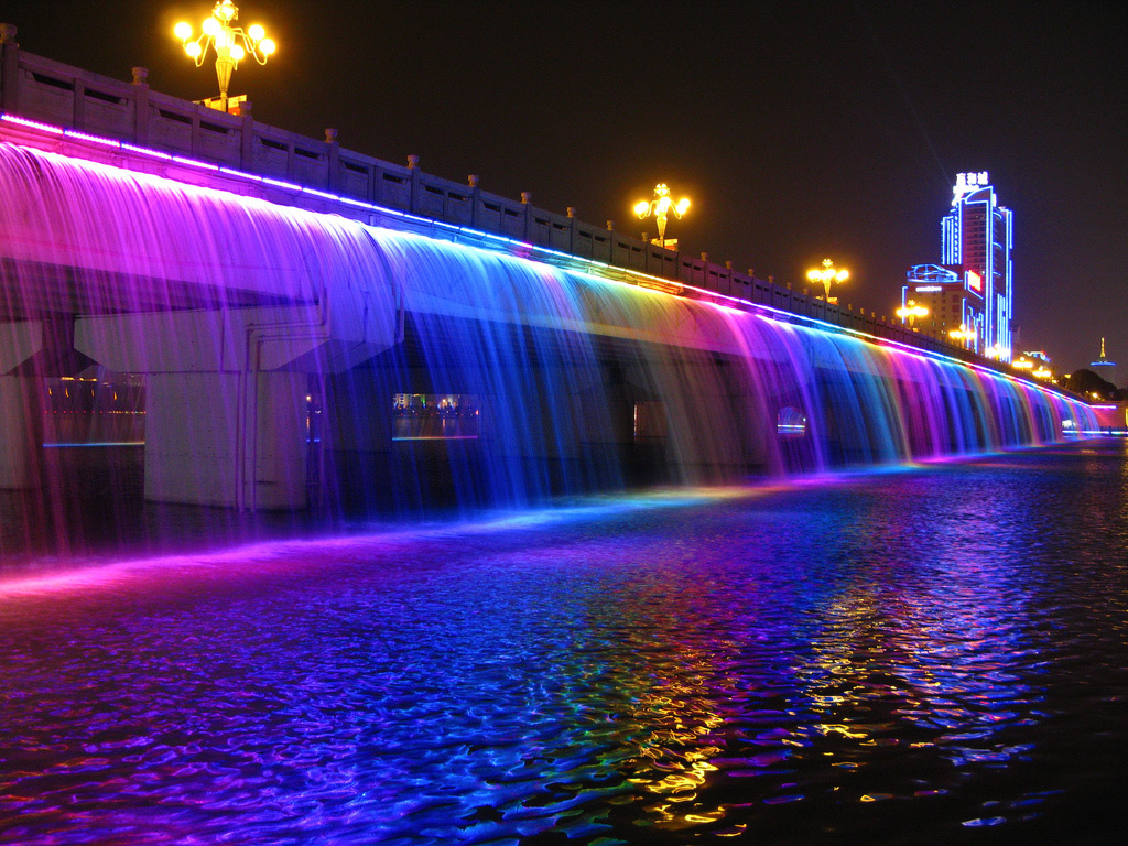 The Most Colourful Bridge Ever