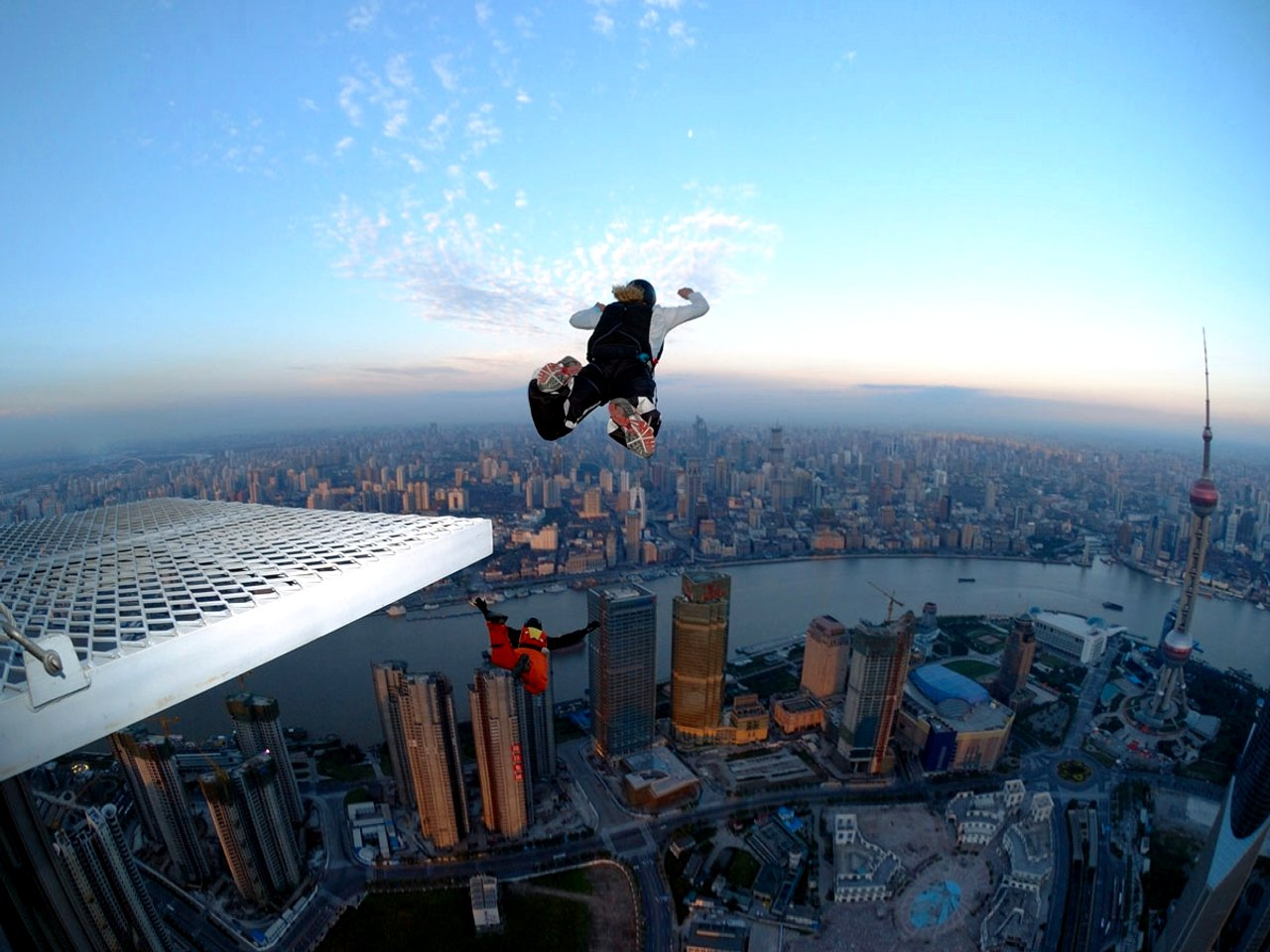 The Extreme Sport Of BASE Jumping