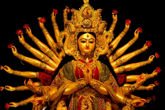 The Festival Of Durga Puja