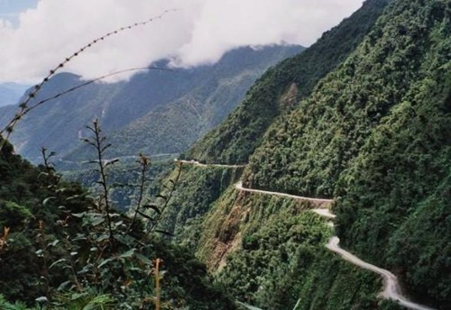 The Death Road - Bolivia