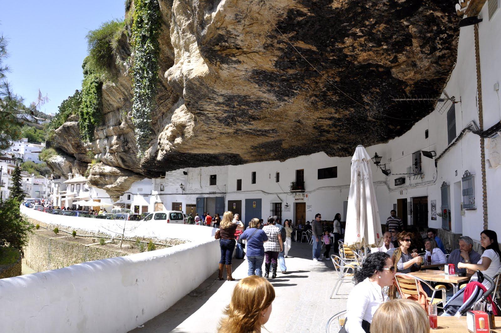 The Town Of Setenil De Las Bodegas - Spain