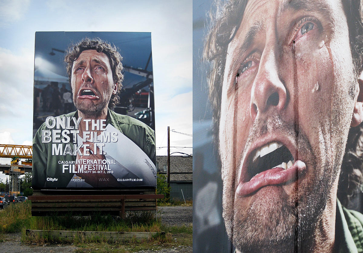 The Crying Billboard