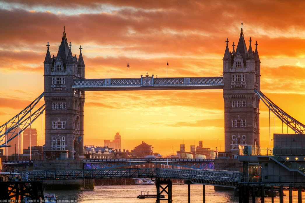 Sunrise Over Tower Bridge - London