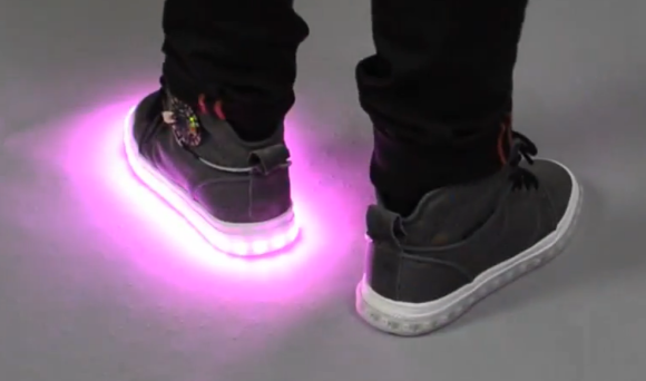 How To Build Yourself LED Shoes