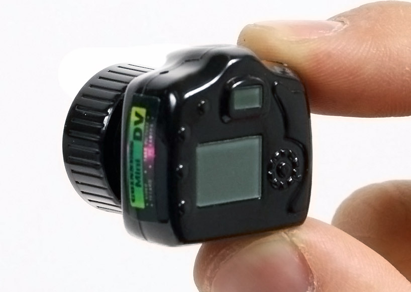 The Worlds Smallest Camera By Hammacher Schlemmer