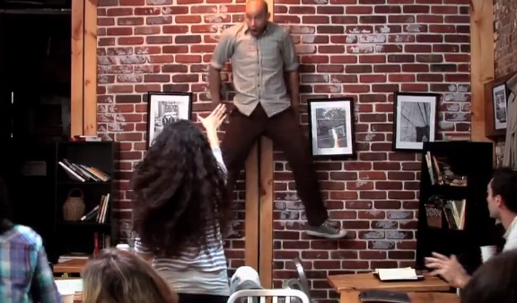The Superpower Coffee Shop Prank