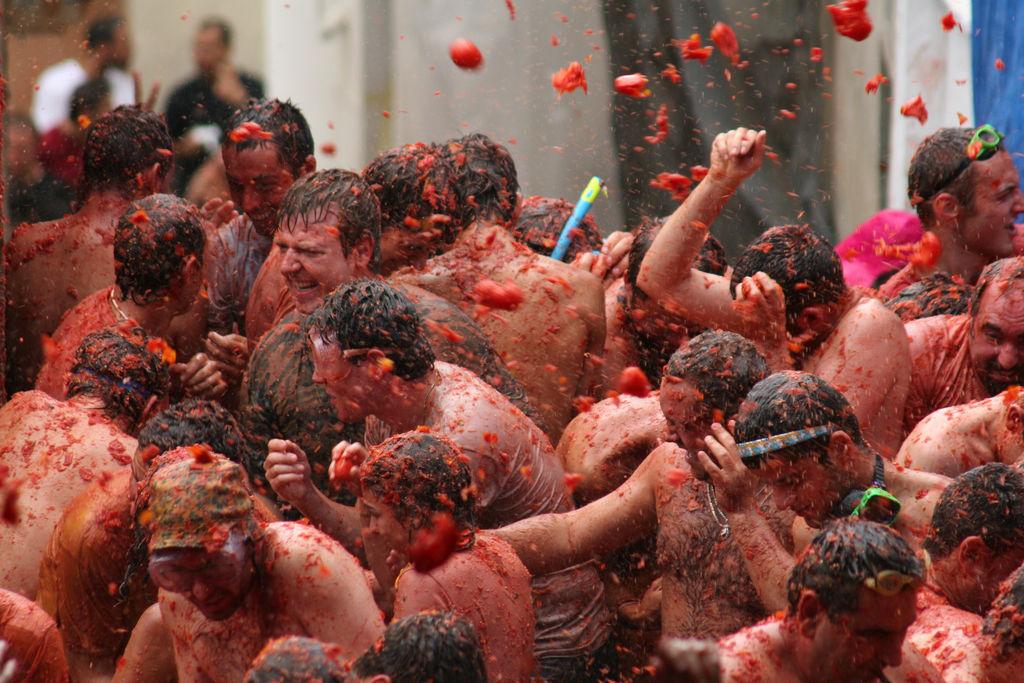 La Tomatina - The Tomato Festival Of Spain