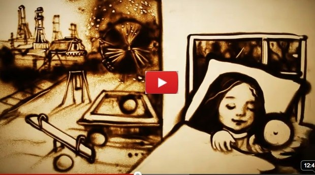 Unbelievable Sand Art Storyboard