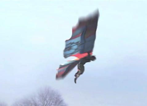 Jarno Smeets Flying Like A Bird