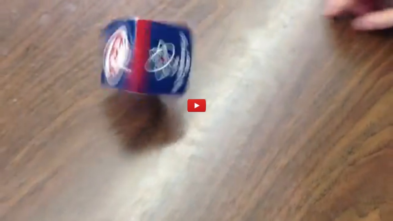How To Make A Box Spin On Its Corner