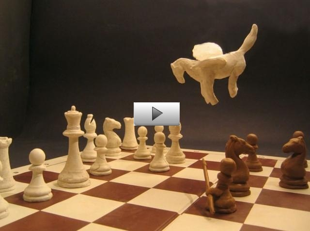 Clay Chess In Stop Motion