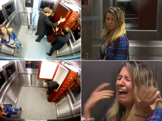 corpse in elevator