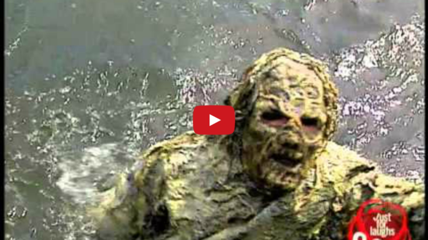 Water Monster Prank