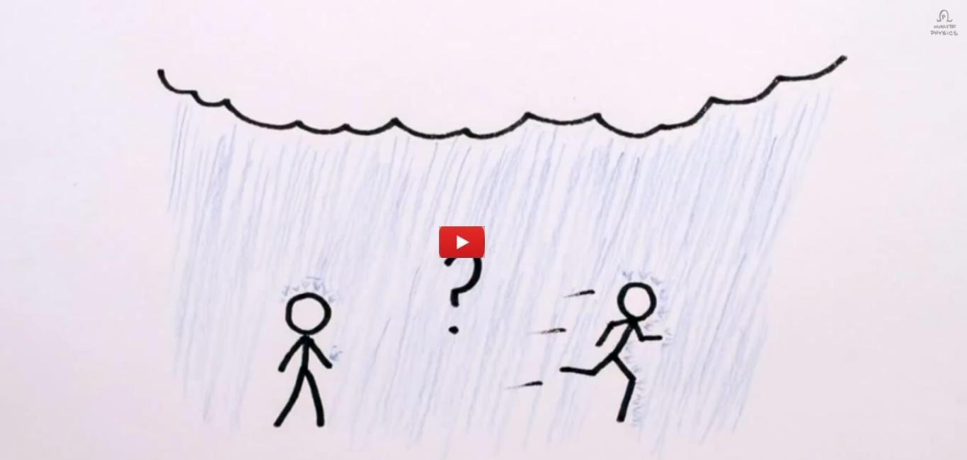 Should You Walk Or Run In The Rain