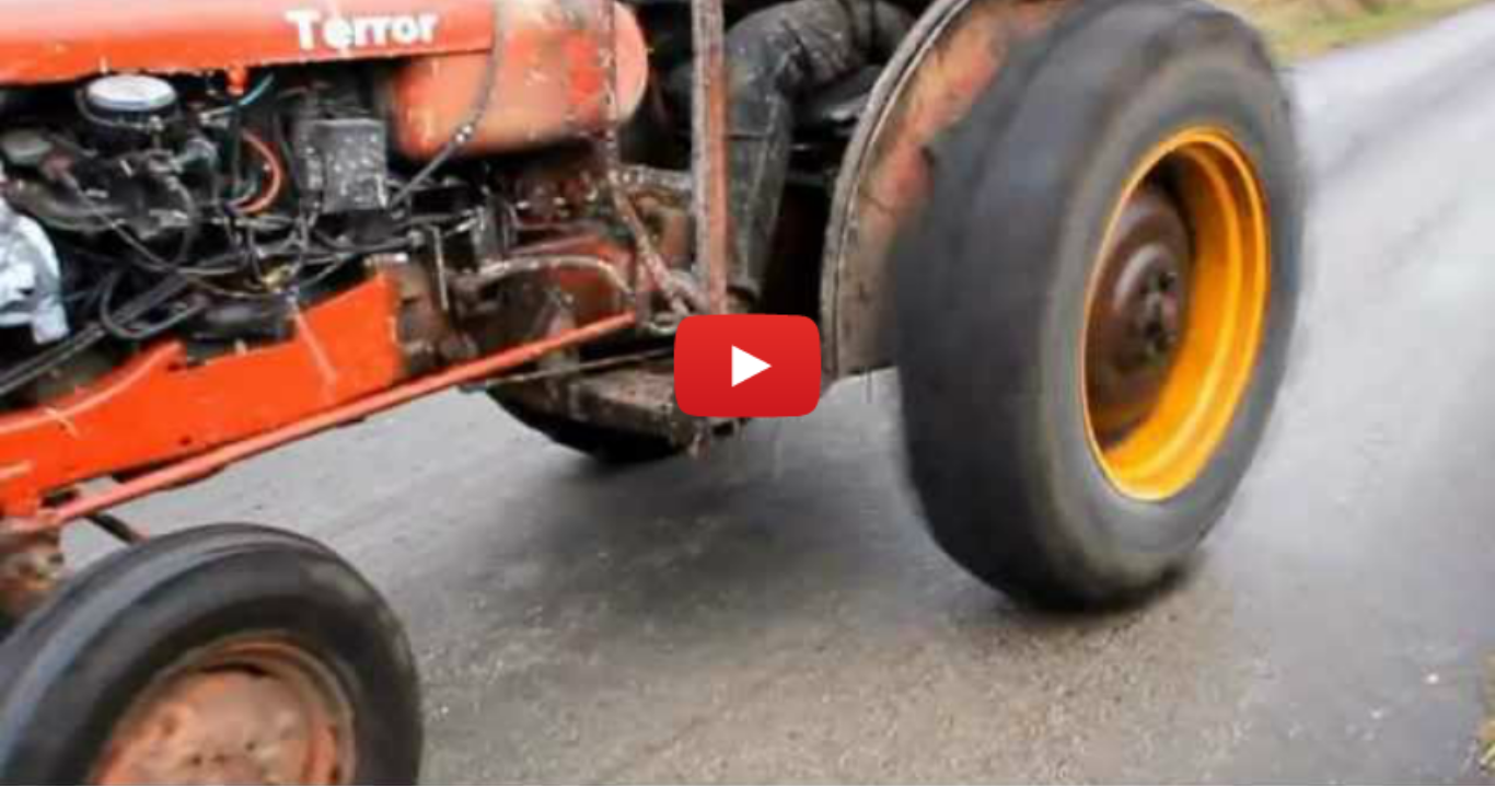 Tractor Racing Like A Volvo