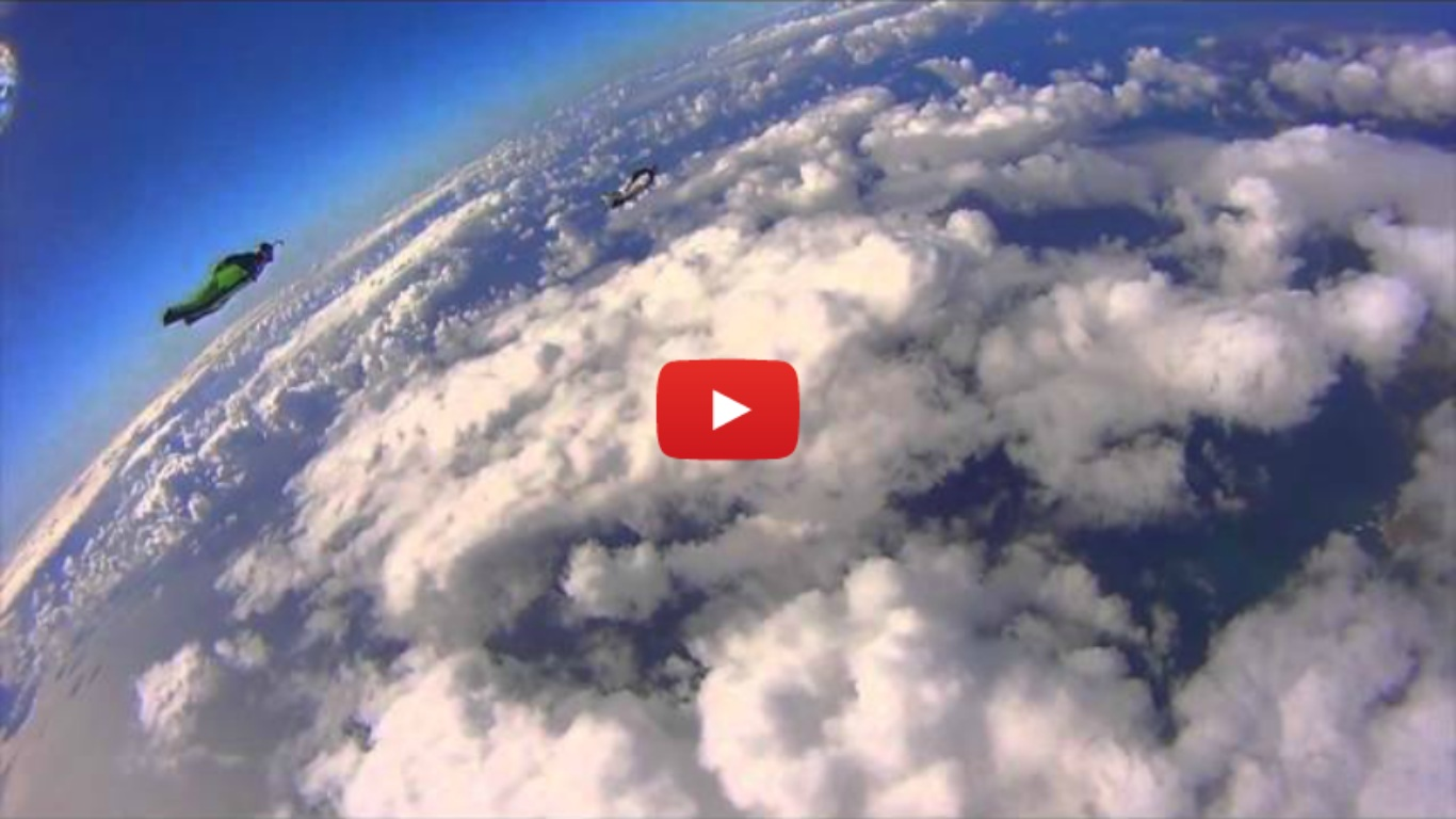 Wingsuit Racing - Human Flight at 140mph!