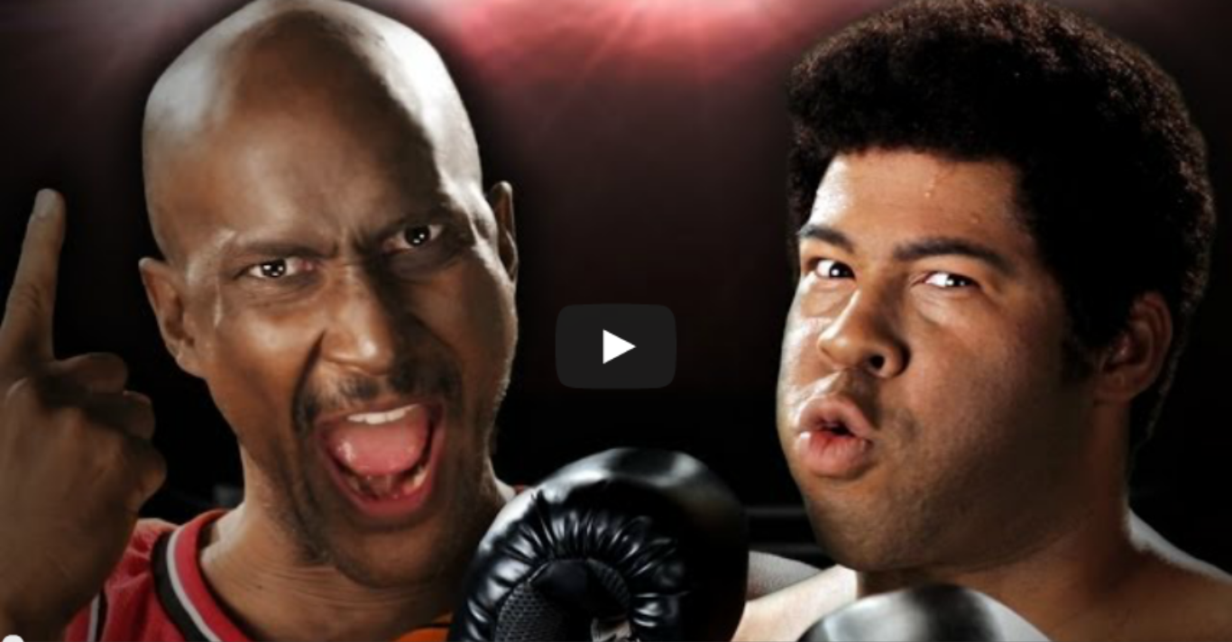 Michael Jordan vs Muhammad Ali. Epic Rap Battles of History