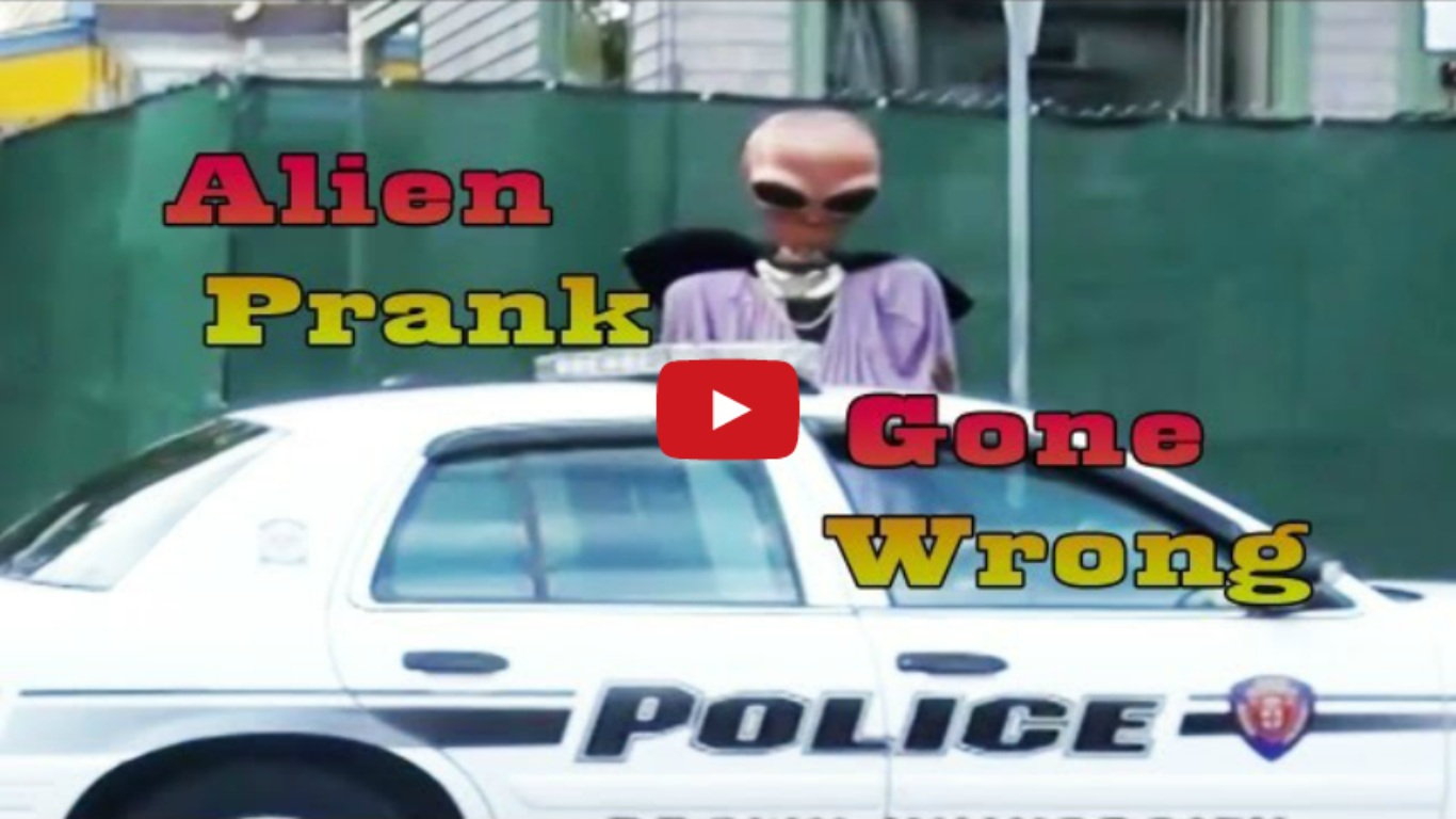 Alien Invasion Prank Gone Wrong
