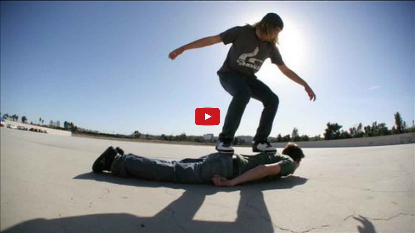 Human Skateboard by PES