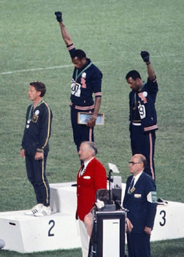 Photo Credits: https://en.wikipedia.org/wiki/Tommie_Smith
