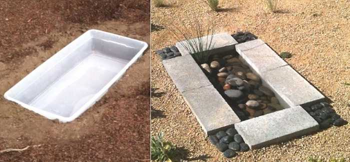 Photo Credit: http://www.thegardenglove.com/diy-project-contemporary-garden-water-feature-less-than-30/